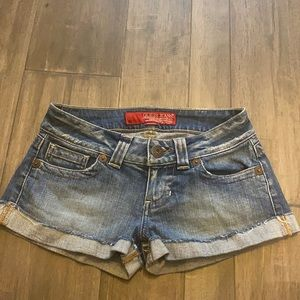 Guess Jeans Stretch Denim Shorts Size 24